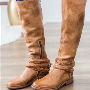 Free People Bed Stu Leather Riding Boot